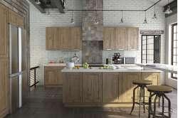 Кухня зі складальними фасадами з Італійського ДСП