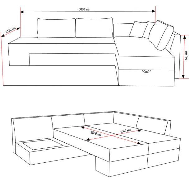 купить угловой диван будапешт в интернет магазине мягкой мебели